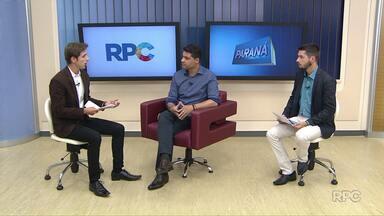 Tá faltando asfalto: prefeito Marcelo Rangel explica sobre condições do asfalto na cidade - Assista o primeiro bloco do Paraná TV 1ª edição desta quinta-feira