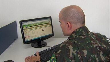 Alistamento militar pode ser feito pela internet. - Jovens tem até o dia 30 de junho para se alistar nas Forças Armadas.