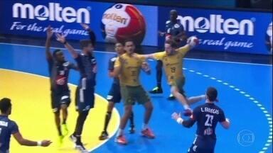 Brasil estreia com derrota no Mundial de Handebol - Brasil estreia com derrota no Mundial de Handebol