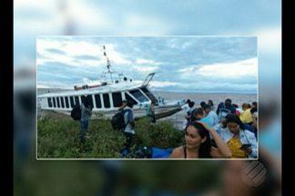 Lancha que viajava de Monte Alegre para Sanatarém deixou passageiros à deriva - Embarcação apresentou problemas mecânicos.