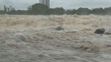 Rio Piracicaba chega a quatro metros e entra em estado de alerta após chuvas - De acordo com o Departamento de Águas e Energia Elétrica, o nível médio do rio para este período é de 2 metros e 57 centímetros.