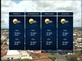Pancadas de chuva são previstas durante a tarde no Oeste Paulista - Veja as previsões para algumas cidades da região.