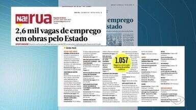 Quer emprego?: confira vagas nos sines do Espírito Santo - Estado tem previsão de duas mil vagas de trabalho em obras da construção civil em 2017.