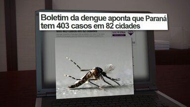 Governo do Paraná divulga novo boletim da dengue - Em Cascavel 37 casos de dengue são confirmados.