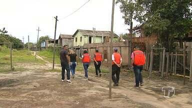 Defesa Civil de Santarém visita bairros que são afetados por fortes chuvas - Agentes do órgão visitaram bairros da grande área do Maracanã para fazer o levantamento das áreas de risco.