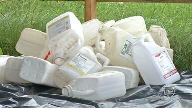 Campanha é lançada para incentivar coleta de embalagens de agrotóxicos em Santarém - Iniciativa é destinada, principalmente, para pequenos e médios produtores rurais e obedece uma recomendação do Ministério Público Estadual.