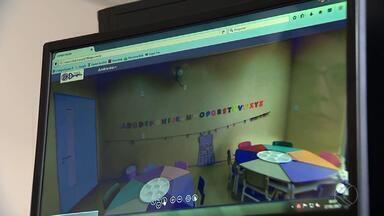 MG TEC: Empresas de Juiz de Fora investem na realidade virtual - Pais podem conhecer a futura escola do filho sem sair de casa utilizando o recurso. Ferramenta cria a sensação de realidade para o visitante.