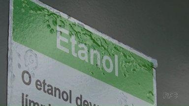 Preço do etanol sobe nos postos de combustíveis - Valor do litro já ultrapassa os três reais