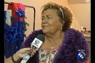 Aos 77 anos Dona Onete grava hoje o primeiro DVD da carreira - Show é gravado no Teatro Margarida Schiwazzapa, na noite desta quarta-feira (18).