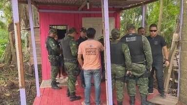 Ocupantes de área de ressaca nas Pedrinhas são notificados a deixar local - As famílias já haviam sido notificadas e autuadas por crime ambiental.