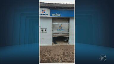 Casa lotérica é arrombada no Centro de Delfinópolis (MG) - Casa lotérica é arrombada no Centro de Delfinópolis (MG)