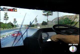 Sest/Senat usa simulador para capacitar motoristas de caminhão - Simulador está sendo montado em todo o país.