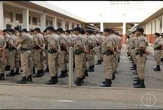 Candidatos a carreira militar passam por curso de formação em Montes Claros - PM está com inscrições abertas para concurso.