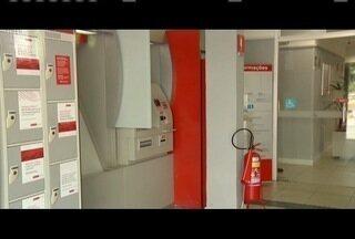 R$ 110,00 mil foram furtado em uma agência bancária em Ipatinga. - A agência fica no bairro Cariru.