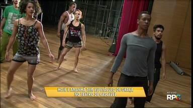 Hoje e amanhã tem espetáculo de dança de graça no teatro de Cascavel - O espetáculo aborda os confrontos culturais da América Latina.