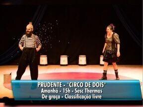 Confira as atrações deste domingo na agenda cultural - Veja o que é destaque na programação do Oeste Paulista.