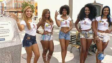 Concurso 'Rainha do Carnaval' seleciona as 12 finalistas; confira - Candidatas sonham conquistar o título e brilhar em uma das maiores festas de rua do mundo.