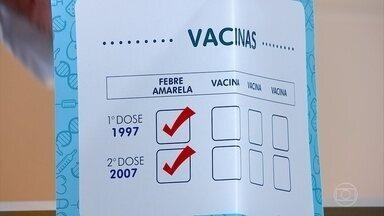 Pessoas vacinadas contra febre amarela em intervalo de 10 anos estão quase 100% imunes - Pessoas vacinadas contra febre amarela em intervalo de 10 anos estão quase 100% imunes