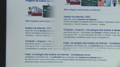 Compartilhamento de notícias falsas é cada vez mais comum na internet - Boatos têm tomado redes sociais.