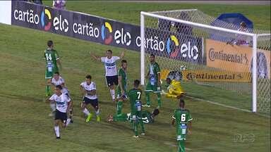 Coritiba cria, balança pouco as redes, mas não preocupa Carpegiani - Coxa encara o Foz do Iguaçu no sábado, no Couto Pereira, mas para o treinador alviverde a seca de gols é um momento da equipe