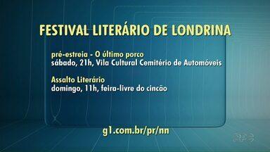 Amanhã tem pré-estreia do Londrix - É a 13ª edição do Festival que fará a pré-estreia com a peça 'O último porco' no cemitério de automóveis.
