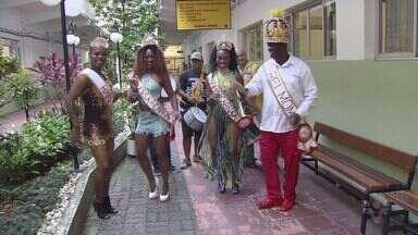 Começa oficialmente o carnaval em São Vicente - Corte carnavalesca recebeu a chave da cidade no salão nobre da prefeitura.