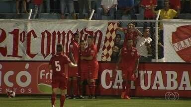 Vila Nova bate a Aparecidense e se isola na liderança - Tigre vence por 2 a 1 fora de casa e afunda o adversário na lanterna