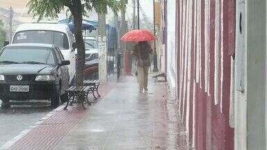 Juazeiro e Sobral registraram fortes chuvas - Acesse o g1.com.br/ce