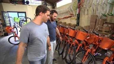 Jovens abrem startup na área de mobilidade urbana - Eles fazem projetos de compartilhamentos de bikes e planejam bicicletários.