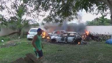Morre 2ª vítima de incêndio criminoso em Novo Aripuanã, no AM - Criança de 2 anos morreu; outras vítimas seguem hospitalizadas.