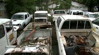 Direção da Funasa promete providências após denúncia de focos do Aedes em São Luís - A direção Nacional da Funasa veio a São Luís e prometeu providências depois da denúncia de focos do mosquito Aedes em carros abandonados na Fundação Nacional de Saúde.