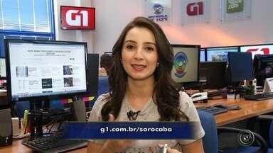 Confira os destaques do G1 Sorocaba e Jundiaí nesta quarta-feira - A repórter Mayara Corrêa traz os destaques do G1 Sorocaba e Jundiaí nesta quarta-feira (15).