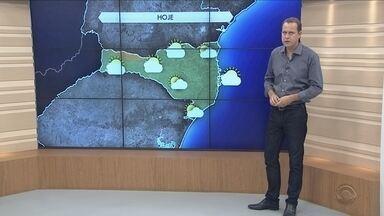 Confira a previsão do tempo para esta quarta-feira (15) - Confira a previsão do tempo para esta quarta-feira (15)