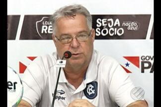 Remo se prepara para enfrentar o Brusque-SC, pela Copa do Brasil - Leão estreia na Copa do Brasil nesta quinta-feira;