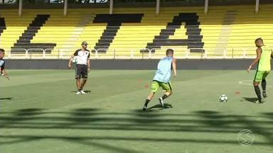 Volta Redonda treina para estreia na Copa do Brasil contra Cruzeiro - Partida é às 21h45 no Estádio Raulino de Oliveira.