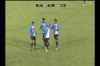 GOL DO PAYSANDU! Leandro Carvalho amplia em bela jogada individual aos 39 do 1º tempo - Paysandu x São Francisco, 3ª rodada do Campeonato Paraense 2017
