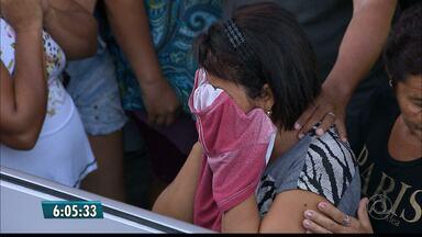 Estudante morta na saída da faculdade em João Pessoa é enterrada - Crime aconteceu na noite de quarta-feira (15).