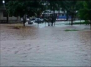 Moradores de Gurupi sofrem com rios que transbordam durante período chuvoso - Moradores de Gurupi sofrem com rios que transbordam durante período chuvoso