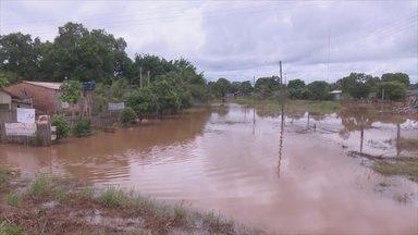 Pimenta Bueno decreta situação de emergência por causa de cheia - Quase 500 pessoas estão desalojadas e 70 desabrigadas.