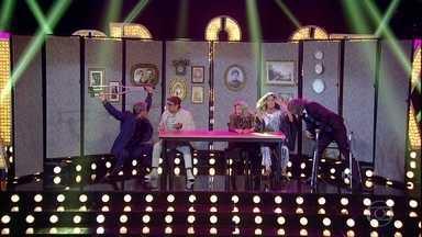 Fernanda apresenta os convidados ao som de Rita Lee - Ôrra Meu! é a música da vez