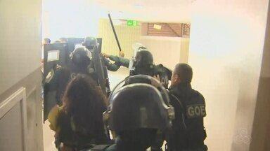 Audiência sobre transporte público tem protesto na Câmara em Manaus - Tumulto ocorreu na manhã desta sexta-feira (24).