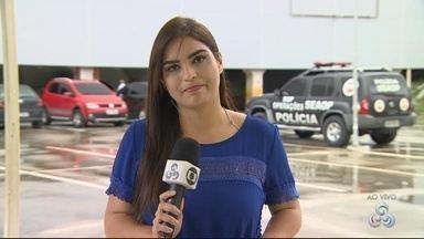 Suspeito de atear fogo em ônibus é preso em Manaus - Ele vai passar por audiência de custódia.