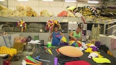 Veja como as escolas de samba do Rio fizeram para manter o luxo em meio à crise - 2016 foi o ano do carnaval da crise e também da criatividade. As escolas usaram materiais alternativos e reciclados.