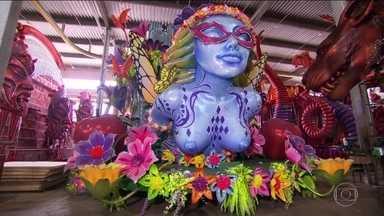 Sapucaí pronta: abram alas para as grandes escolas de samba do Rio - São 12 escolas que vão sacudir a avenida em dois dias de desfiles. Na Passarela, enredos vão falar de música, índios, fé e cultura africana.