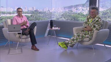 Globo Comunidade RJ - Edição de 26/02/2017 - Faltam poucas horas para o início dos desfiles das escolas do Grupo Especial do Rio. Veja os preparativos finais que aconteceram durante a semana e o uso consciente dos materiais.