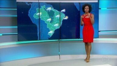 Confira a previsão do tempo para quarta-feira (1º) no Brasil - Confira a previsão do tempo para quarta-feira (1º) no Brasil.