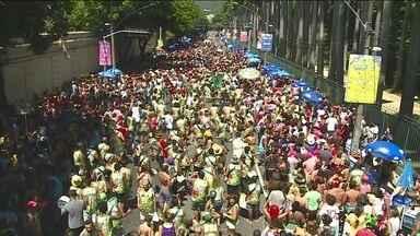 Confira os blocos de Carnaval que fazem a diversão em Minas, Rio, São Paulo e Brasília - Em Brasília o tradicional bloco Pacotão fez um carnaval politizado, com humor e ironia. O tema foi a crise hídrica no Distrito Federal, os foliões protestaram contra o racionamento de água que afeta a cidade.