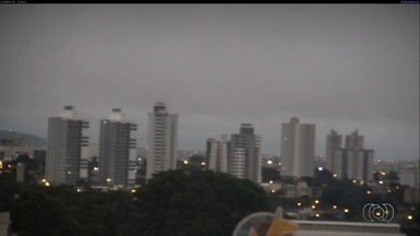 Confira a previsão do tempo para Goiás - Em Goiânia, a quarta-feira (1º) começou com chuva.