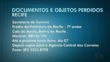 Documentos objetos perdidos no carnaval podem ser recuperados - Folião deve se dirigir à Secretaria Municipal de Turismo, no Recife; e à sede da Guarda Municipal, em Olinda.
