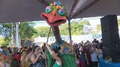 Bloco da Ema encerra festividades de carnaval em Piracicaba - O bloco agitou os foliões ao som do frevo nessa terça (28).